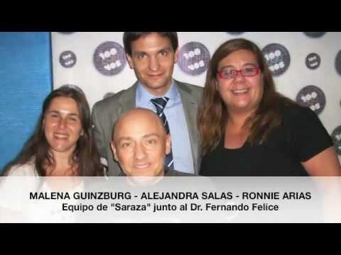 Ronnie Arias entrevista al Dr Fernando Felice - FM99.9 - SARASA