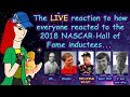 Our actual reaction to the NASCAR Hall of Fame class of 2018