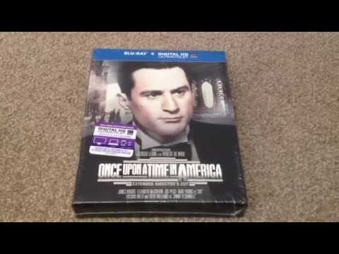Once Upon A Time In America ( Extended Directors Cut ) Digibook Package Blu-Ray Unboxing