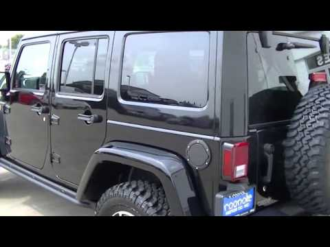 2014 Jeep Unlimited Wrangler Rubicon X Illinois IL Roanoke IL