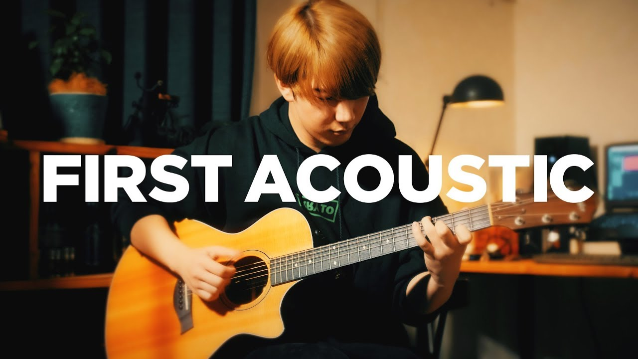 First Time Playing Acoustic Guitar