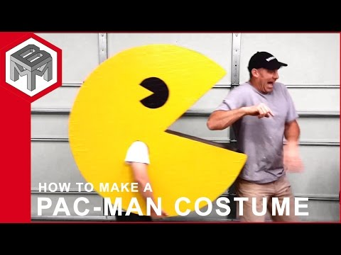 How to make a PAC-MAN Halloween costume