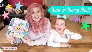 Mummy Daughter Interview & Playtime!! | AD | LOUISE PENTLAND | Lego Dots by Sprinkle of Glitter