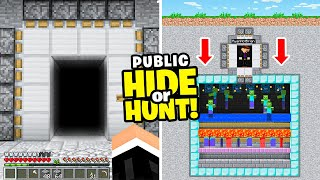 I found a HIDDEN Minecraft base that makes $1,000,000 every HOUR..