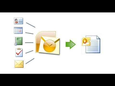 comment ouvrir archive outlook