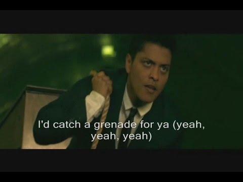 Bruno Mars - Grenade Official Video Lyrics