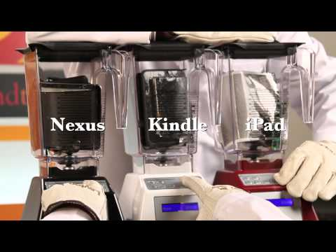 Will It Blend? iPad Mini Vs Nexus 7 Vs Kindle Fire HD