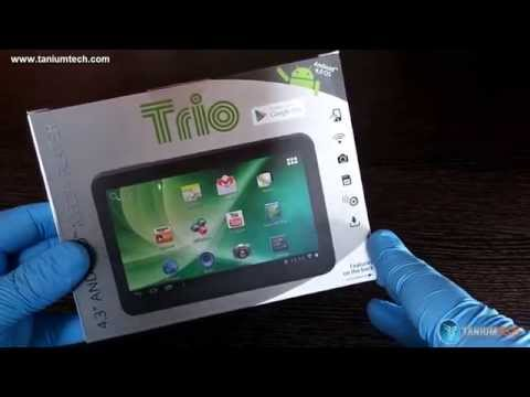 Unboxing Mini Tablet Trio Stealth Lite 4.3