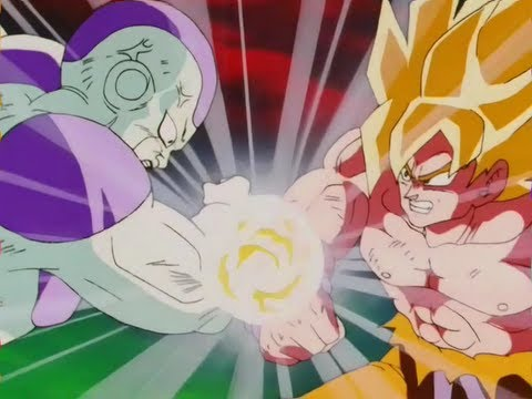 DBZ Kai - Frieza vs Goku Final Fight