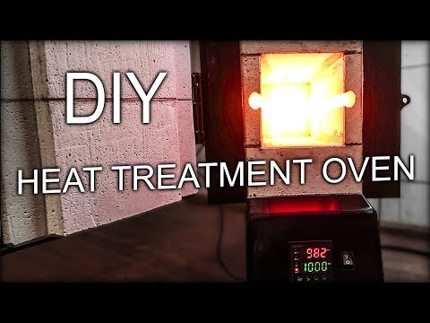 DIY Heat Treatment Oven