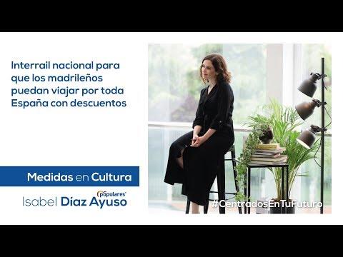 Isabel Díaz Ayuso - Medidas en Cultura y Turismo