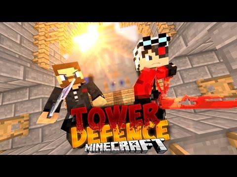 Minecraft Tower Defence - ТЕСТ ЗАКРЫТОГО РЕЖИМА С ЕВГЕХОЙ