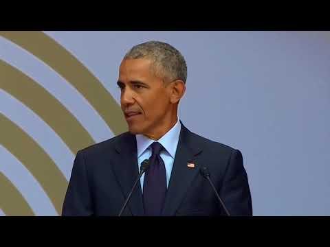 Barack Obama warns of 'strongman politics'