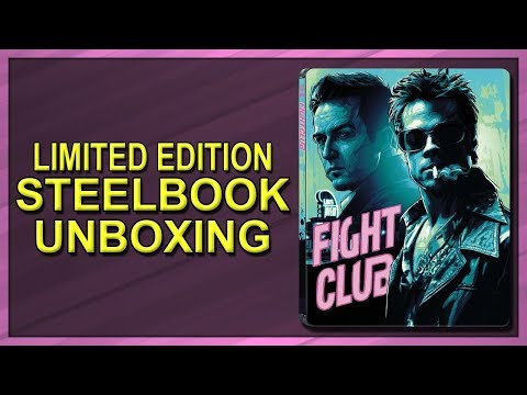 Fight Club Limited Edition SteelBook Unboxing