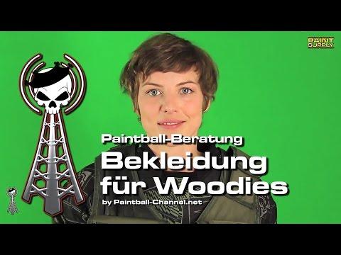 Paintball Beratung: Woodland Bekleidung für Paintballer von PAINT SUPPLY