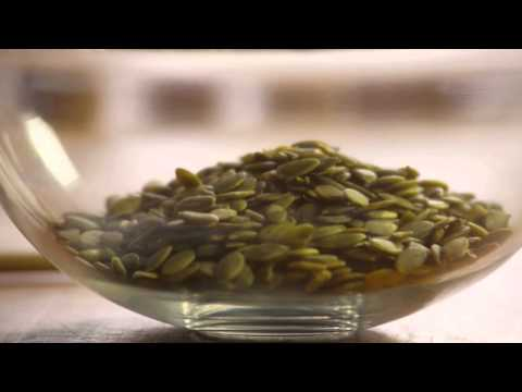 Recipe for roasted pumpkin seeds