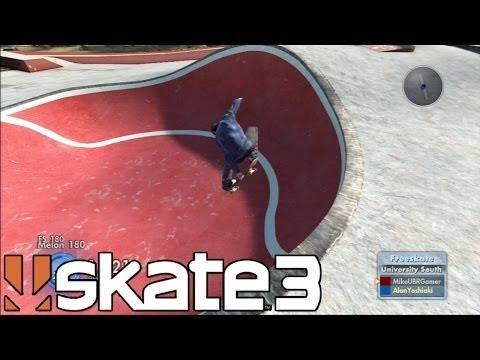 Skate 3 - Gaps e Spots Insanos Carvatron Skate Park - Parte #87