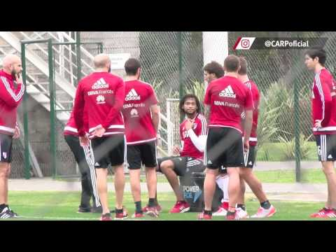 Entrenamiento en River Camp (27/06)