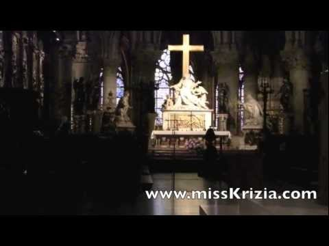 Notre Dame Cathedral Paris France | Indoor Visit