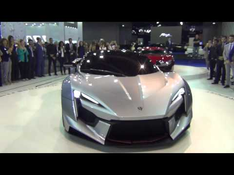 W Motors - Dubai International Motor Show 2015