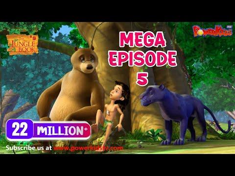 The Jungle Book Cartoon Show Mega Episode 5 | Latest Cartoon Series