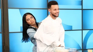 Video Steph & Ayesha Curry Get Cooking in the Kitchen MP3, 3GP, MP4, WEBM, AVI, FLV Februari 2018