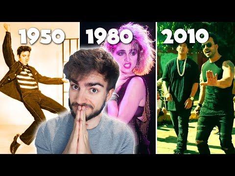 Videos musicales - Modas Musicales de 1950 a 2010  Jaime Altozano