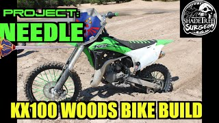 4. Project Needle: The Ultimate KX100 Woods Dirt Bike Build