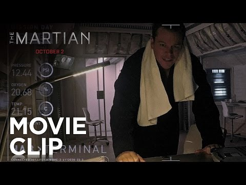 The Martian (Clip 'Disco Music')