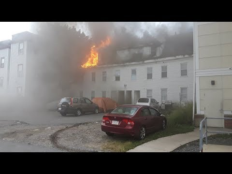 Gas explosions, fires rock US state of Massachusetts