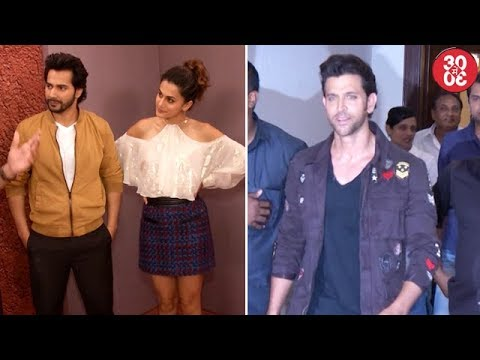 Taapsee Clears The Air About Varun | Hrithik Opts