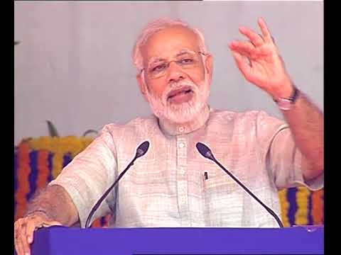 PM's speech at the foundation stone of Bridge between Okha and Beyt Dwarka