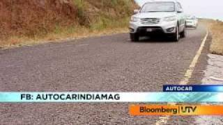 2010 Hyundai Santa Fe Vs Nissan X-Trail Vs Chevrolet Captiva | Comparison Test | Autocar India