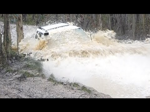 Subaru Forester Off Road - I think I took that one a tad fast (видео)