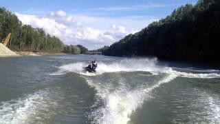 9. Yamaha FX HO 160 hp Wave Runner vs. Wellcraft Excel V6 190 hp Boat