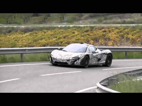 McLaren P1 Concept Spied Testing [Video]