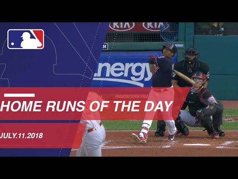 Watch all the home runs from July 11, 2018