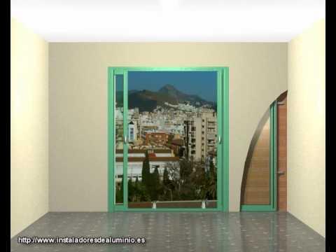 Puertas y ventanas correderas ocultas, instalacion y puesta en obra