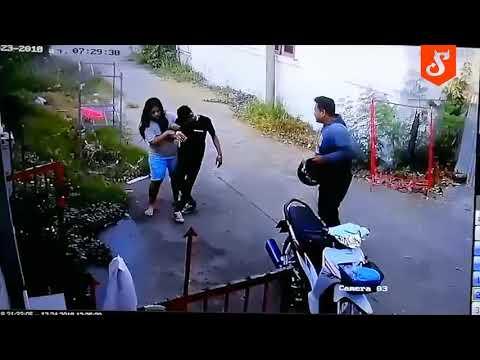 Kobieta wita swojego faceta po powrocie z imprezy. Pełen szacunek