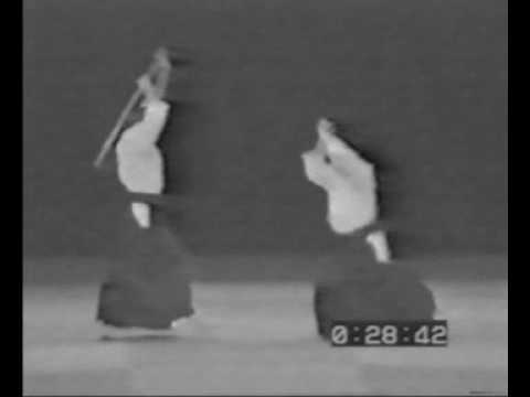 Masters Of The Aikido. Айкидо старые мастера.