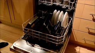 Beko DIN15R10 Standard Dishwasher video review