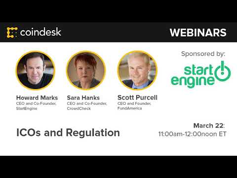 How to Launch an ICO 2.0 with Security Tokens - Webinar by CoinDesk video