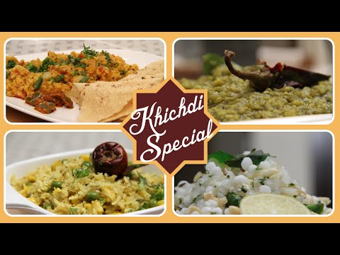 Khichdi Special Recipes | Easy & Quick To Cook Rice Recipes