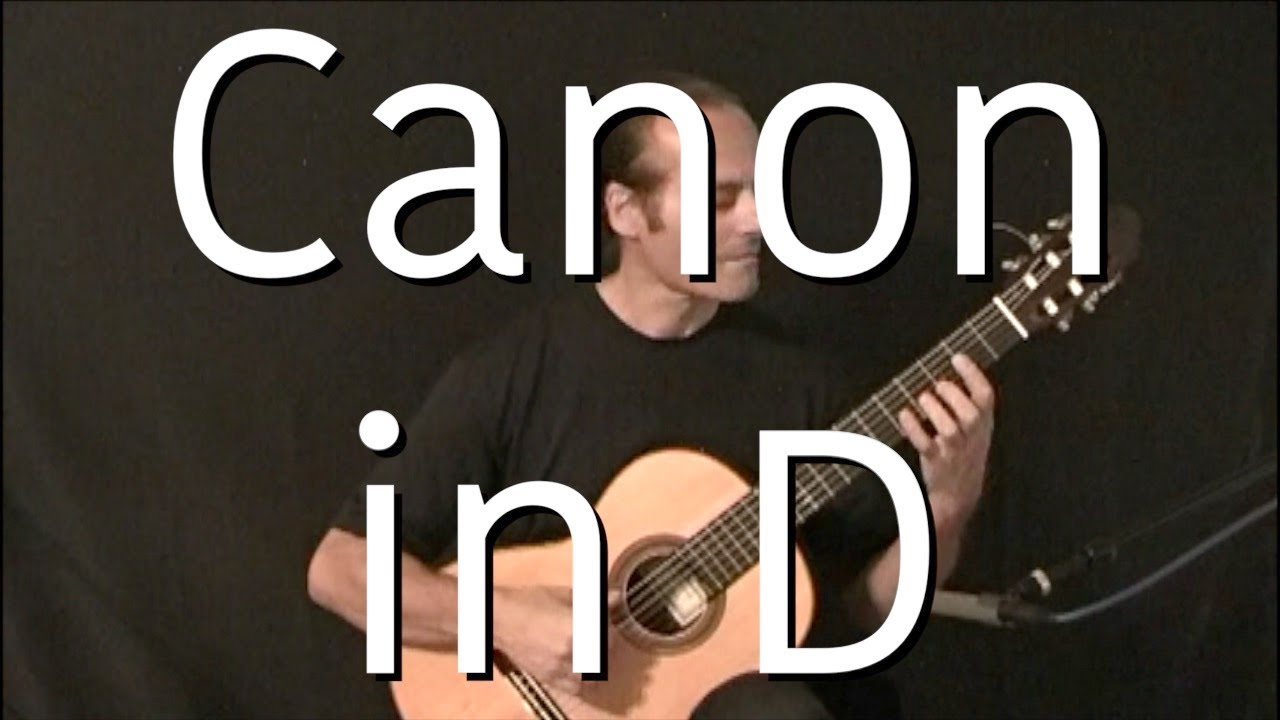Canon In D – Advanced Guitar Tutorial/Lesson/Instructions with Tabs – Michael Marc
