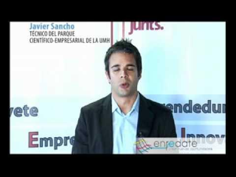 D. Javier Sancho, Técnico del Parque Científico Empresarial de la UNIVERSIDAD MIGUEL HERNÁNDEZ