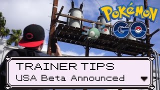 Pokémon GO: USA Beta Starting This Month! by Trainer Tips