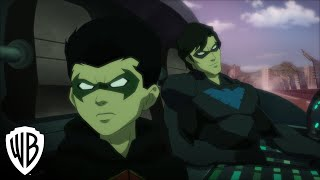 Nonton Justice League Vs  Teen Titans Clip   Robin   Nightwing Film Subtitle Indonesia Streaming Movie Download