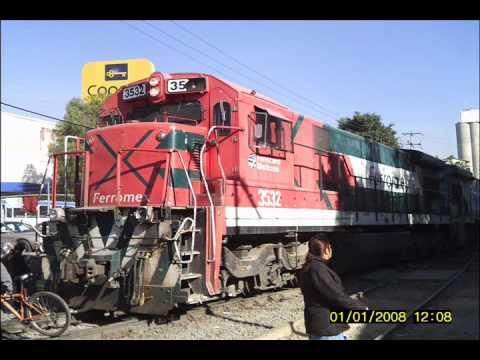 Accidente de tren de ferromex contra camion en las juntas Tlaquepaque