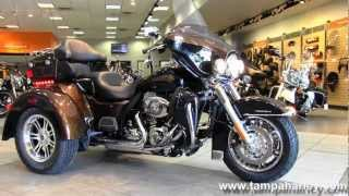 1. New 2013 Harley-Davidson FLHTCUTG Tri Glide Ultra Classic 110th Anniversary