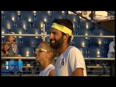 Παράκτιοι Μεσογειακοί Αγώνες | BEACH TENNIS | 27/08/19 | ΕΡΤ